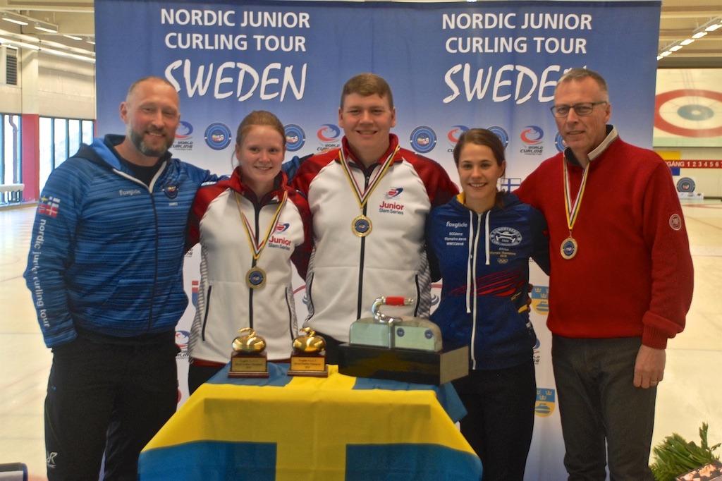 Represent the Junior Slam in Sweden