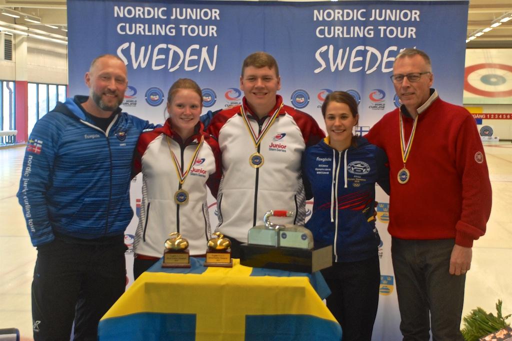 Represent the Junior Slam in Sweden